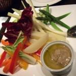 生野菜とバーニャカウダー
