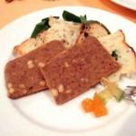 お肉のテリーヌとメルバトースト
