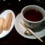 紅茶&クッキー