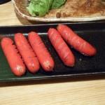 赤ウインナー焼