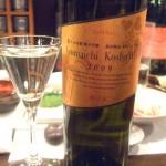 東一 山田錦 純米吟醸 勝沼醸造甲州ワイン樽 Azumaichi Koshu Wood 2008