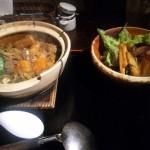 鴨と大根の土鍋御飯