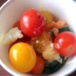 有機トマトのカプレーゼ