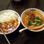 坦々麺&マーボー丼