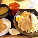 『札幌濃厚魚介つけ麺』(800円)
