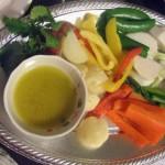 野菜とバーニャカウダ