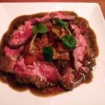 ラム肉のピストゥーソース