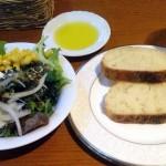 パン・サラダ