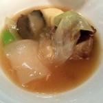 筍と野菜のスープ