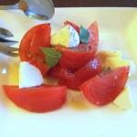 モッツァレラチーズとトマトマリネ