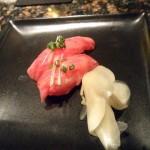 特選黒毛和牛ロースの握り寿司