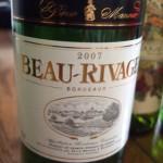 Borie Manoux Beau-Rivage Blanc (ボリー・マヌー ボー・リバージュ ブラン)