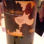 Salice Salentino Rosso DOC Riserva