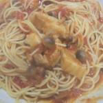 豚バラとトマトのスパゲッティ