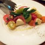 青森県カラフルプチトマトとモッツアレラのカプレーゼ