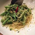 ブロッコリーとカラスミのスパゲッティ