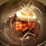 ブラック冷麺