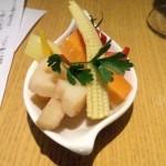 野菜のマリネ