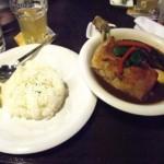 北海道産地鶏カリー。
