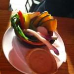 旬野菜ボイルのバーニャカウダ