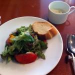 サラダ・パン・スープ