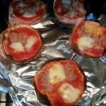 餃子のピザ