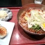 黒酢冷麺セット