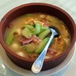 冬瓜とベーコンのカレースープ