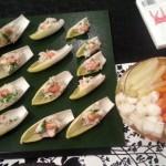 海老芋のサラダ