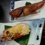 煮魚&海老