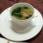 蛤と蕪のスープ