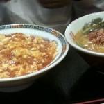 台湾ラーメンとマーボー豆腐